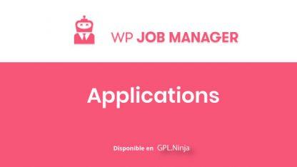 WP Job Manager Applications