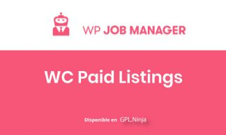 WP Job Manager WC Paid Listins