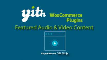 Yith Woocommerce Featured Audio Video Premium
