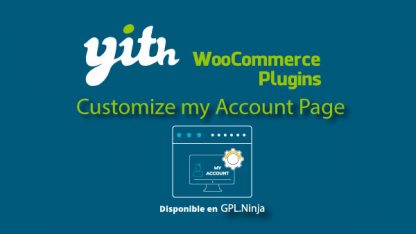 Yith Woocommerce Customize MyAccount Premium