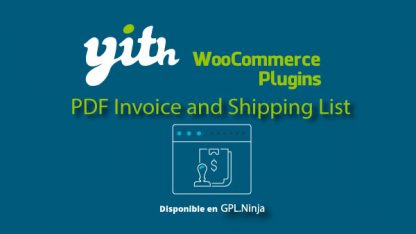 Yith Woocommerce PDF Invoice Premium