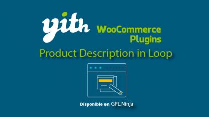 Yith Woocommerce Product Description in Loop Premium