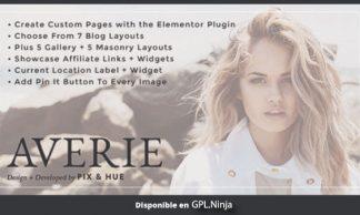Averie – A Blog & Shop Theme