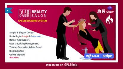 Salon Booking Management System