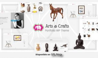 Crafts & Arts – Artist Portfolio Theme