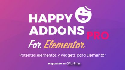 Happy Addons for Elementor PRO