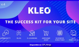 KLEO – Pro Community Focused – Multi-Purpose BuddyPress Theme