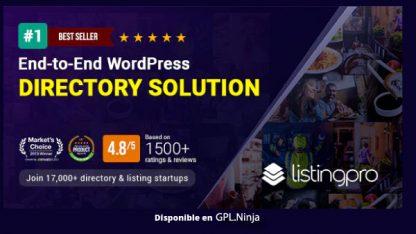 ListingPro – WordPress Directory Theme