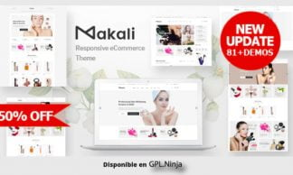 Makali – Cosmetics & Beauty Theme for WooCommerce