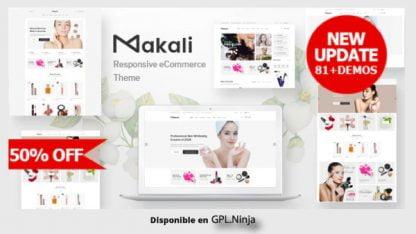 Makali – Cosmetics & Beauty Theme for WooCommerce