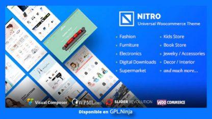 Nitro – Universal WooCommerce Theme