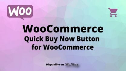 Quick Buy Now Button for WooCommerce