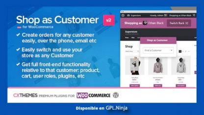 Shop as Customer for WooCommerce