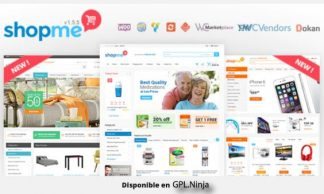 ShopMe – Multi Vendor Woocommerce WordPress Theme