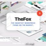 TheFox – Responsive Multi-Purpose WordPress Theme