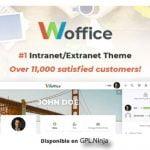 Woffice – Intranet/Extranet WordPress Theme