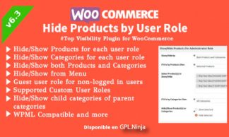WooCommerce Hide Products by User Roles