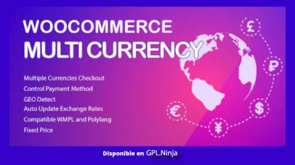WooCommerce Multi Currency – Currency Switcher