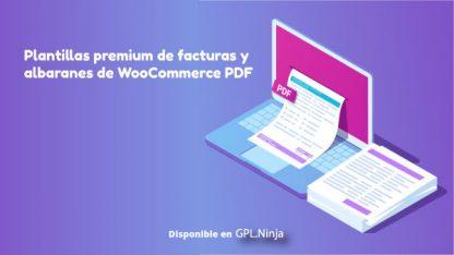 Plantillas premium de facturas y albaranes de WooCommerce PDF