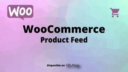 Woocommerce Product Feed
