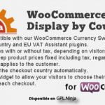 Tax Display by Country for WooCommerce