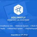 AdLinkFly – Monetized URL Shortener