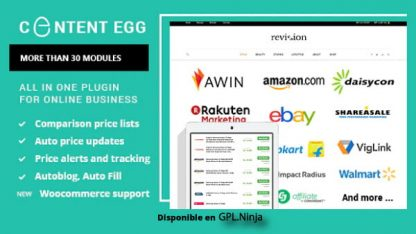 Content Egg – all in one plugin for Affiliate