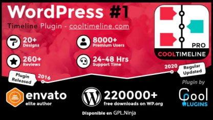 Cool Timeline Pro – WordPress Timeline Plugin