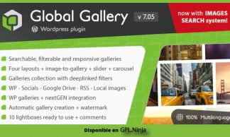 Global Gallery – WordPress Responsive Gallery