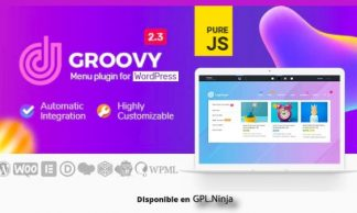 Groovy Mega Menu – Responsive Mega Menu Plugin for WordPress