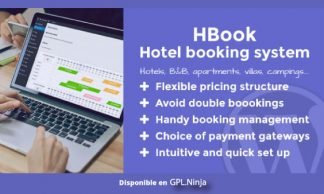 HBook – Hotel booking system – WordPress Plugin