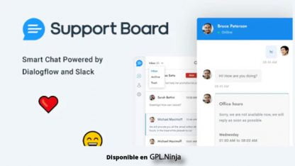Support Board – Chat And Help Desk