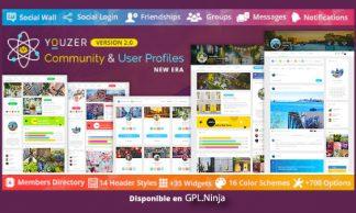 Youzer – Community & User Profiles Management