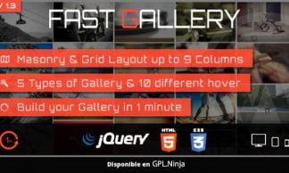 Fast Gallery – Premium WordPress Plugin