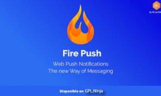 Fire Push – WordPress HTML Web Push Notifications