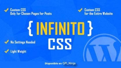 INFINITO – Custom CSS for Chosen Pages and Posts