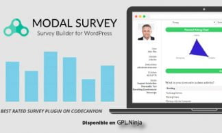 Modal Survey - WordPress Poll