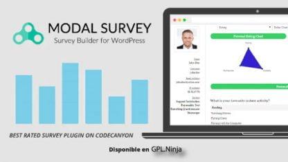 Modal Survey - WordPress Poll