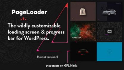 PageLoader: WordPress Loading Screen and Progress Bar