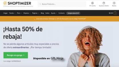 Shoptimizer Tema Woocommerce