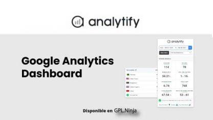 WP Analytify Dashboard