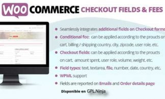 WooCommerce Checkout Fields & Fees 8