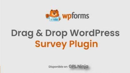 WPForms Drag & Drop WordPress Survey Plugin