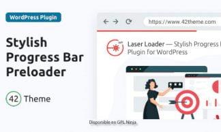 Laser Loader - Stylish Progress Bar Preloader