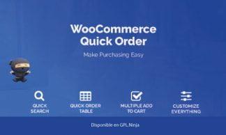 WooCommerce B2B Quick Order